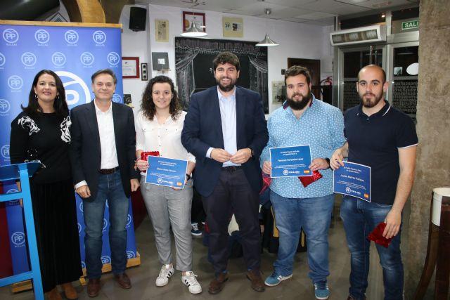 López Miras: El proyecto del PP no es cortoplacista, sino el de un partido ganador, con ideas para el futuro, y garantía de trabajo y entrega - 1, Foto 1
