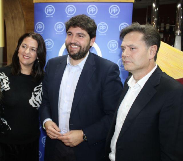 López Miras: El proyecto del PP no es cortoplacista, sino el de un partido ganador, con ideas para el futuro, y garantía de trabajo y entrega - 3, Foto 3