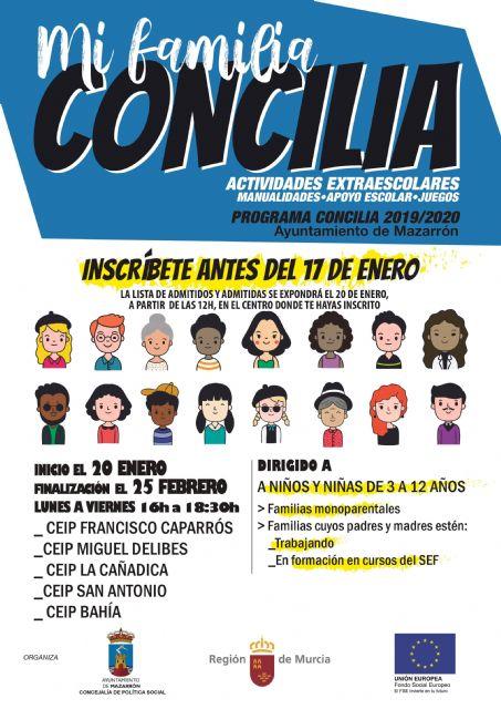 Hasta el 17 de enero se encuentra abierta la inscripción para la campaña 'mi familia concilia', Foto 1