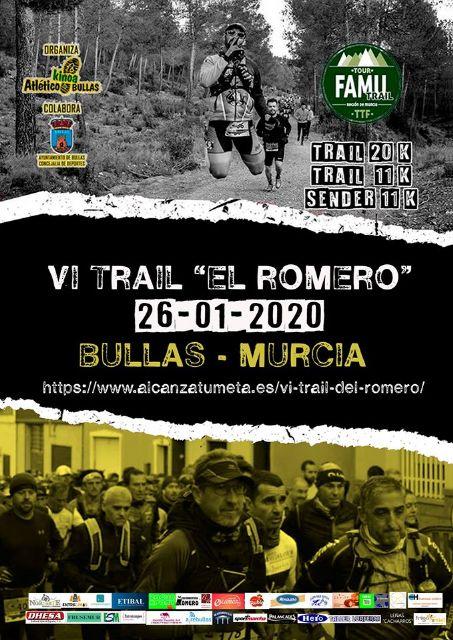 La VI Trail El Romero se disputa el 26 de enero - 1, Foto 1