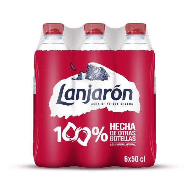 Lanjarón presenta su botella de 50cl hecha totalmente con plástico reciclado - 1, Foto 1