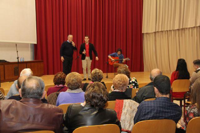 Los troveros Cardoso I y Cardoso II con Antonio Micol a la guitarra protagonizaron el I Encuentro de Trovos Románticos en Puerto Lumbreras - 1, Foto 1