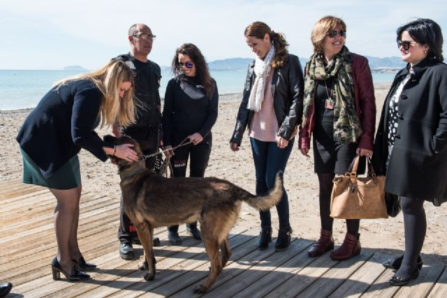 Mazarrón se suma al proyecto escan que emplea perros adiestrados para la protección y atención psicológica de víctimas de violencia de género - 1, Foto 1