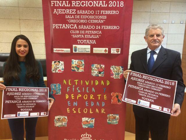 Totana acogerá las finales regionales del programa de Deporte Escolar