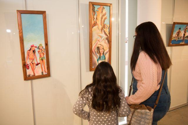 Cinco artistas exponen sus trabajos en la Universidad Popular, Foto 2