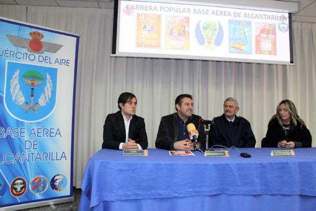 Presentada oficialmente la V Carrera Popular Base Aérea de Alcantarilla, que se celebrará el próximo domingo 25 de febrero, con salida y meta en nuestra ciudad - 3, Foto 3