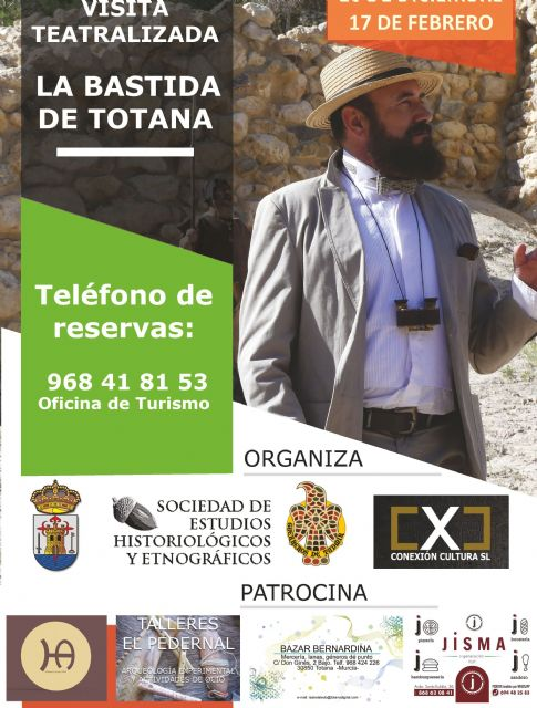 Next Saturday there will be a new edition of the theatrical visits to the archaeological site of La Bastida - 1