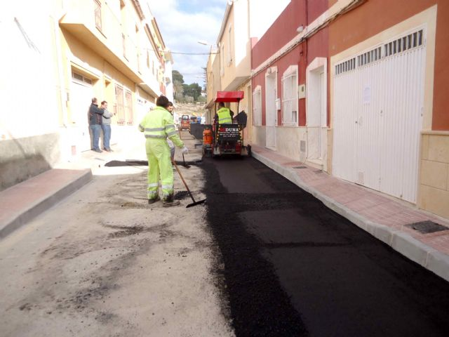 Completion of the renovation works of the network and sewage connections in the Callejón de la Calle Valle del Guadalentín and the Extremadura road, Foto 2