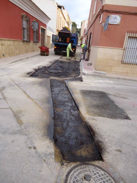 Completion of the renovation works of the network and sewage connections in the Callejón de la Calle Valle del Guadalentín and the Extremadura road, Foto 3
