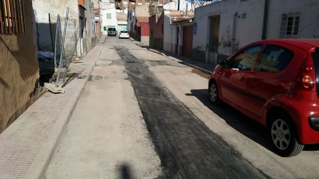 Completion of the renovation works of the network and sewage connections in the Callejón de la Calle Valle del Guadalentín and the Extremadura road, Foto 4