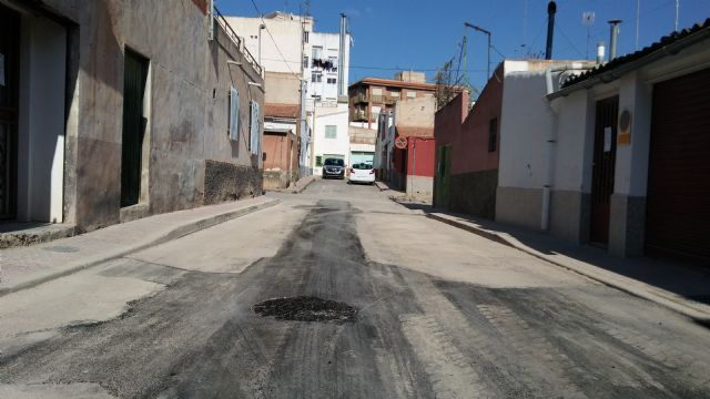 Completion of the renovation works of the network and sewage connections in the Callejón de la Calle Valle del Guadalentín and the Extremadura road, Foto 5