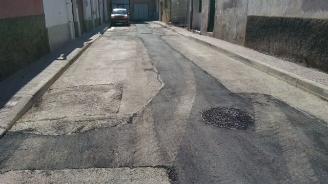 Completion of the renovation works of the network and sewage connections in the Callejón de la Calle Valle del Guadalentín and the Extremadura road, Foto 6