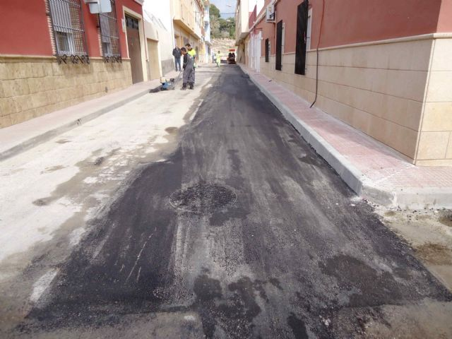 Completion of the renovation works of the network and sewage connections in the Callejón de la Calle Valle del Guadalentín and the Extremadura road, Foto 7
