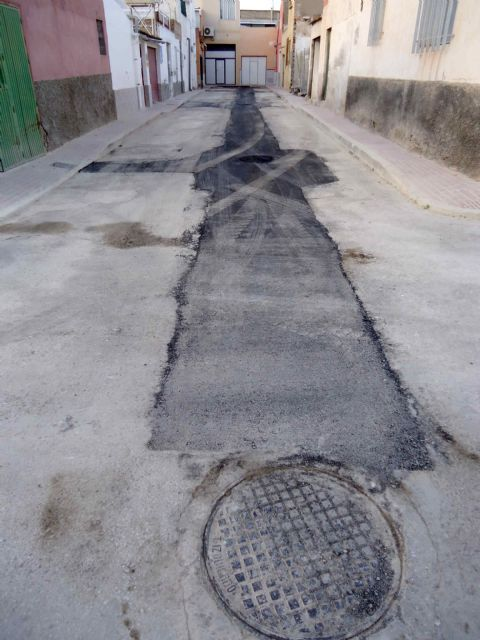 Completion of the renovation works of the network and sewage connections in the Callejón de la Calle Valle del Guadalentín and the Extremadura road, Foto 8