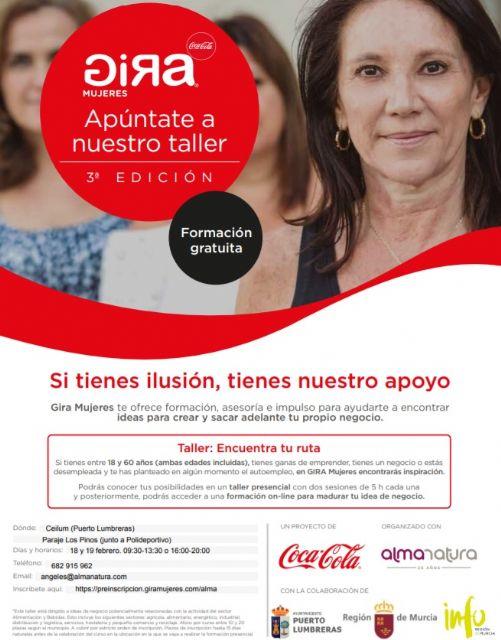 Puerto Lumbreras se suma a la Gira Mujeres de Coca-Cola para fomentar el emprendimiento laboral femenino - 1, Foto 1