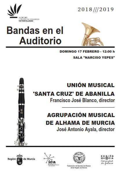 Concierto de la Unión Musical Santa Cruz de Abanilla en el auditorio Víctor Villegas de Murcia - 2, Foto 2