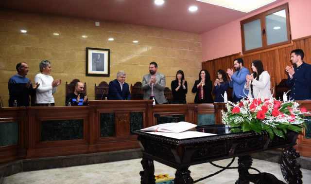 El nuevo Delegado del Gobierno, Pepe Vélez, presentó ayer su renuncia como alcalde de Calasparra en el Pleno Municipal - 1, Foto 1
