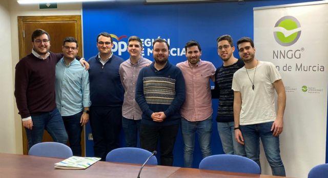 Nuevas Generaciones apoya la constitución del Consejo de la Juventud de la Región de Murcia (CJRM) - 1, Foto 1