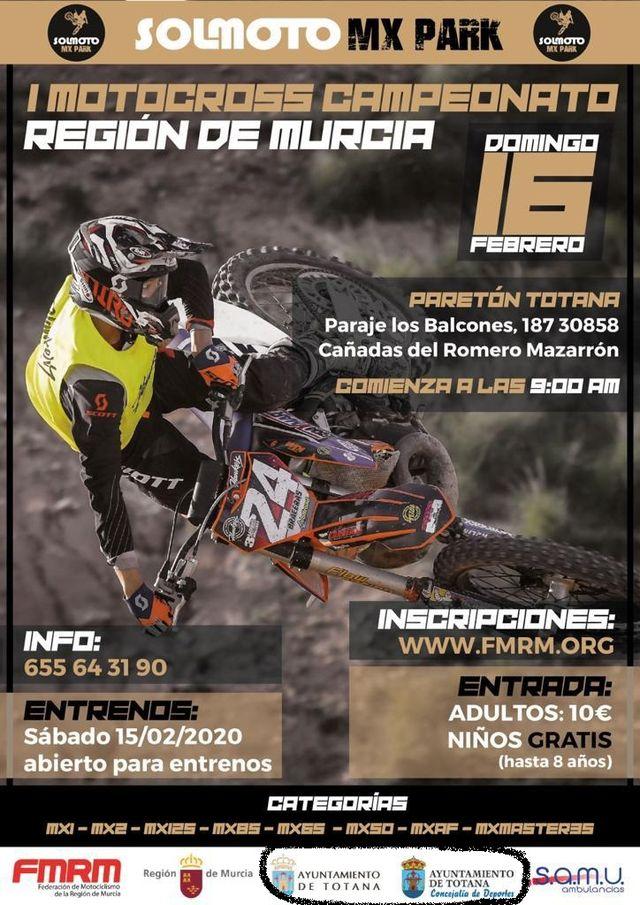 Adoptar�n medidas legales por utilizar los logos corporativos municipales para anunciar, sin consentimiento, el I Motocross Campeonato Regi�n de Murcia, Foto 1