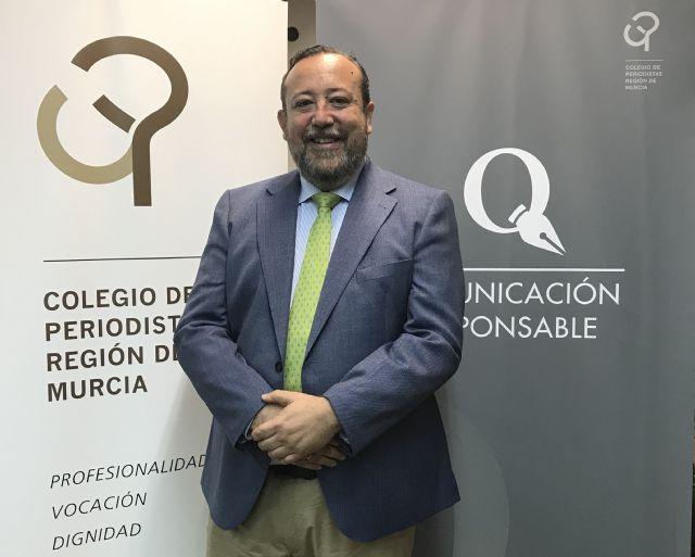El Colegio de Periodistas distingue a Juan Antonio De Heras con la Presidencia de Honor de la institución - 1, Foto 1