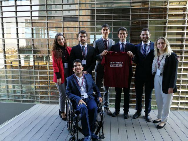 Estudiantes de Derecho representan por segunda vez a la UMU en un concurso de Derecho Internacional Público - 1, Foto 1