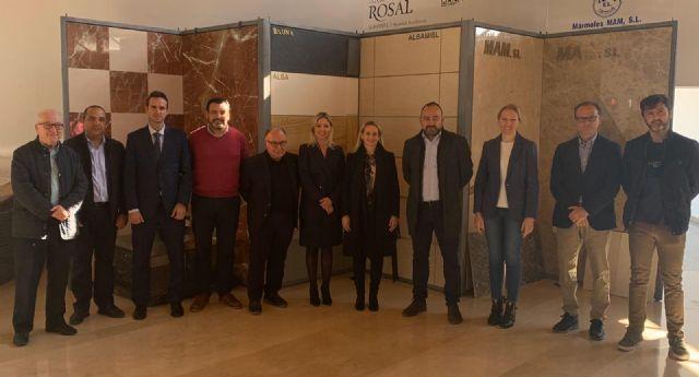 La Comunidad invierte 70.000 euros para proyectos altamente innovadores del sector del mármol y la piedra, Foto 1