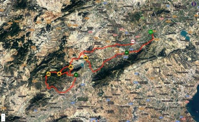 La Vuelta Ciclista a Murcia pasa este sábado por Sierra Espuña y Alhama - 1, Foto 1
