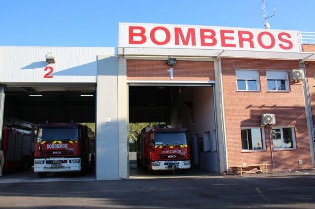 Inaugurado el parque de bomberos Alhama-Totana tras su remodelaci�n, Foto 2