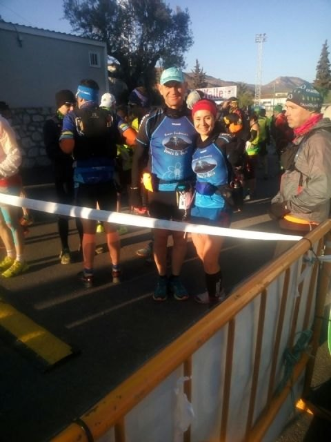 The Rat Sale Sendero Group participated in the III Extreme Trail Filabres held in Seron (Almeria)