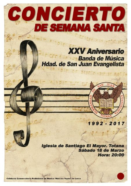 The San Juan Music Band will offer a concert on the occasion of its 25th Anniversary