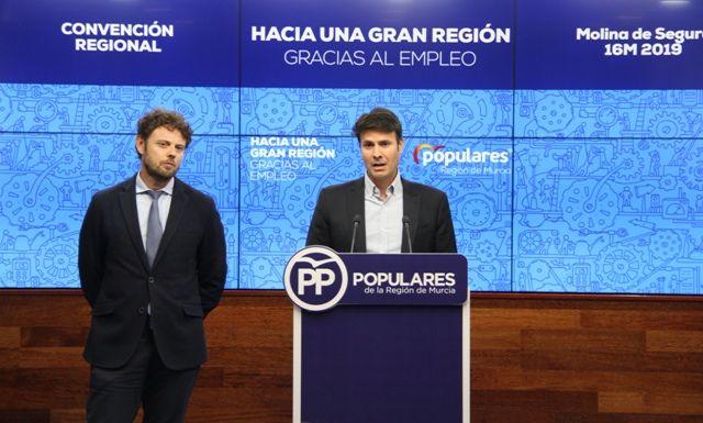 Molina de Segura acogerá el sábado la Convención regional ´Hacia una gran Región gracias al empleo´ - 1, Foto 1
