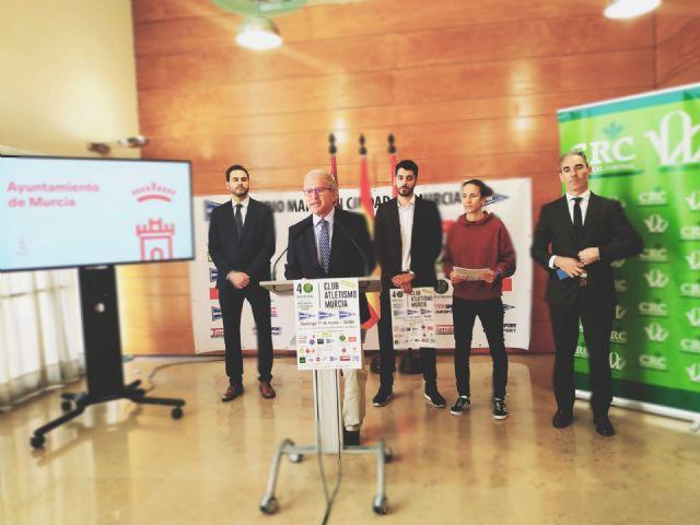 Más de 1500 deportistas participarán en la Media Maratón Ciudad de Murcia Hipercor que tendrá lugar el domingo - 2, Foto 2