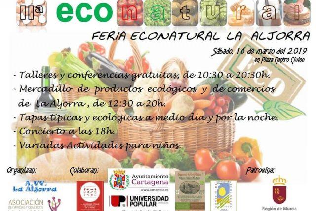La Aljorra celebra su II Feria Econatural - 1, Foto 1