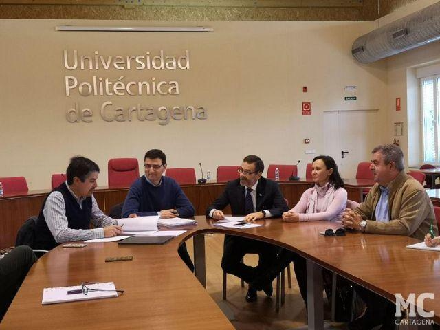 José López anuncia que triplicará la aportación municipal en la próxima legislatura a la red de Cátedras de la UPCT - 2, Foto 2