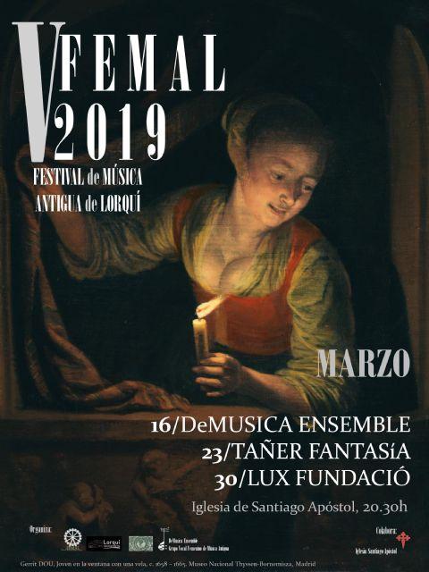 La música antigua vuelve a Lorquí por quinto año consecutivo - 1, Foto 1
