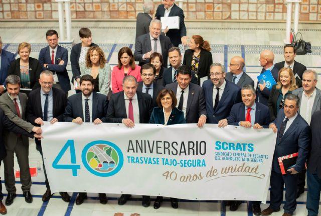 """Jesús Cano: """"Gran parte de lo que somos como región se lo debemos al trasvase Tajo-Segura"""", Foto 2"""