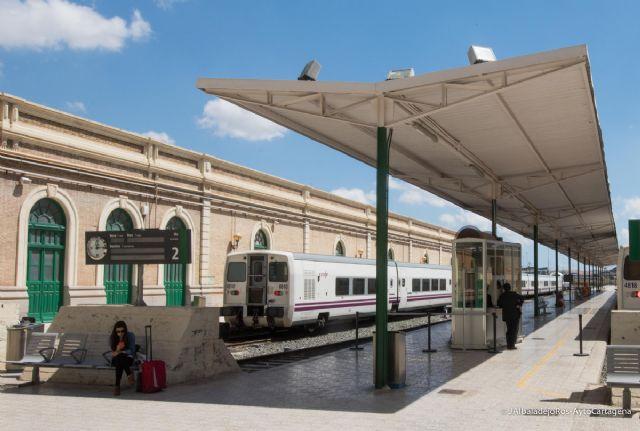 Adif licita la redacción de los proyectos para la construcción del AVE a Cartagena - 1, Foto 1