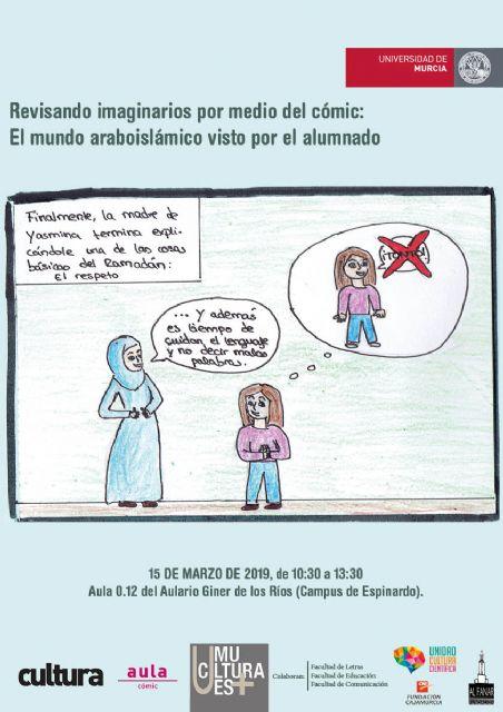 La Universidad de Murcia educa en diversidad a través del cómic árabe - 1, Foto 1