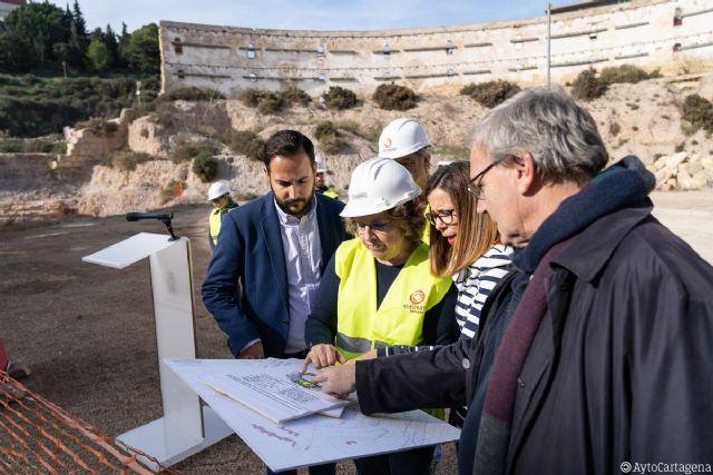 El Ayuntamiento obtiene el 1,5% Cultural para la excavación de la fase 2 del Anfiteatro - 1, Foto 1