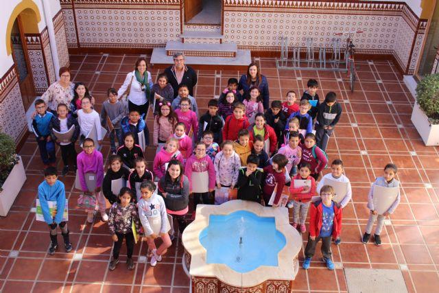 Visita alumnos 3º colegio Asunción al Ayuntamiento de Jumilla - 1, Foto 1