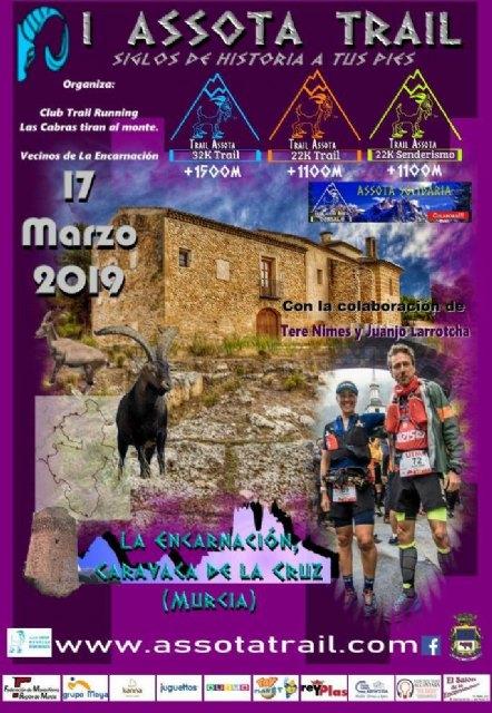 La Assota Trail reúne este domingo a 900 corredores en la pedanía caravaqueña de La Encarnación - 1, Foto 1