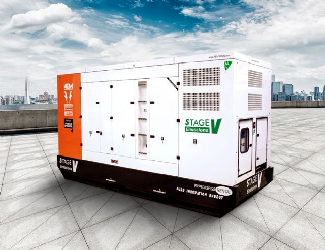 AEM lanza sus generadores con bajas emisiones Stage V, Foto 1