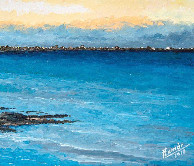 Exposición de pintura, en Alhama de Murcia,
