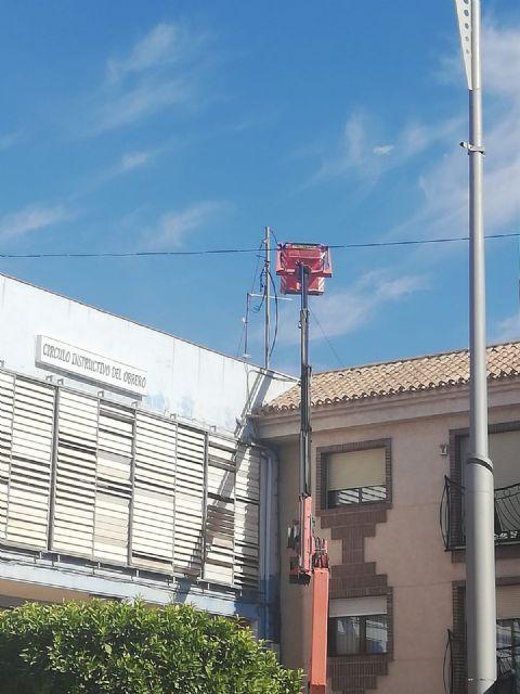 Iberdrola renueva sus redes eléctricas en las avenidas Cartagena y Juan Carlos I, Foto 2