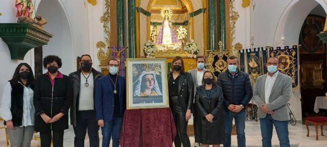 La imagen de María Santísima de la Esperanza protagoniza el cartel de la Semana Santa de Puerto Lumbreras - 1, Foto 1