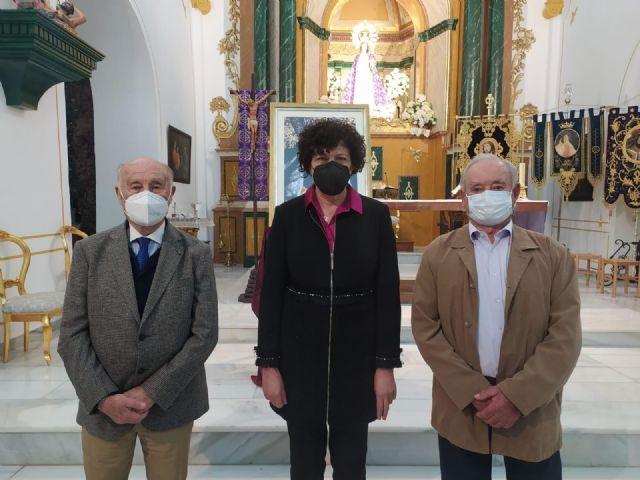 La imagen de María Santísima de la Esperanza protagoniza el cartel de la Semana Santa de Puerto Lumbreras - 2, Foto 2