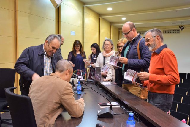 Antonio Cano presenta en Mazarrón Epitafio en la arena - 3, Foto 3