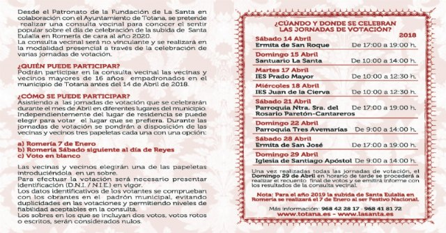 This weekend the local consultations on the celebration of the pilgrimage of the Santa's ascent - 3