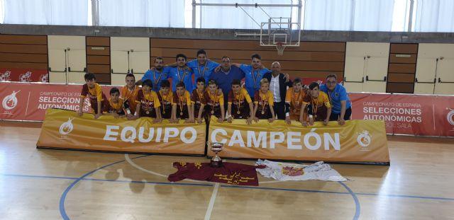 Dos títulos nacionales, un campeonato de España para el fútbol sala alevín y un subcampeonato para el fútbol juvenil, han recaído este fin de semana para las bases de la Región de Murcia., Foto 2