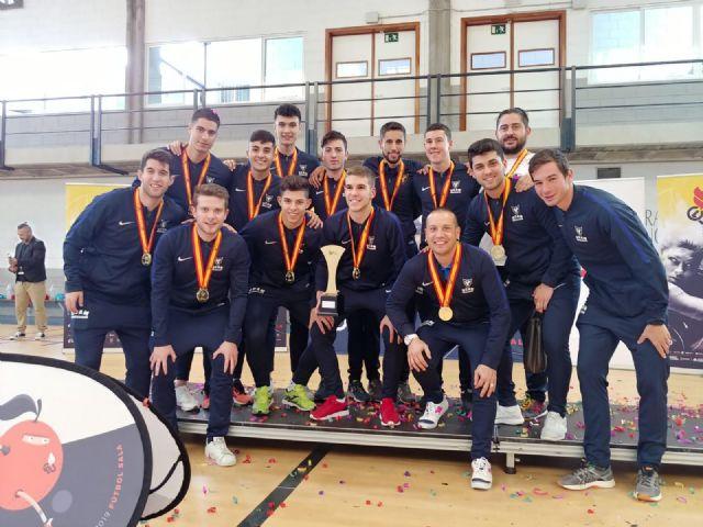 Cuatro medallas más para la UCAM en fútbol sala, voleibol y balonmano - 2, Foto 2